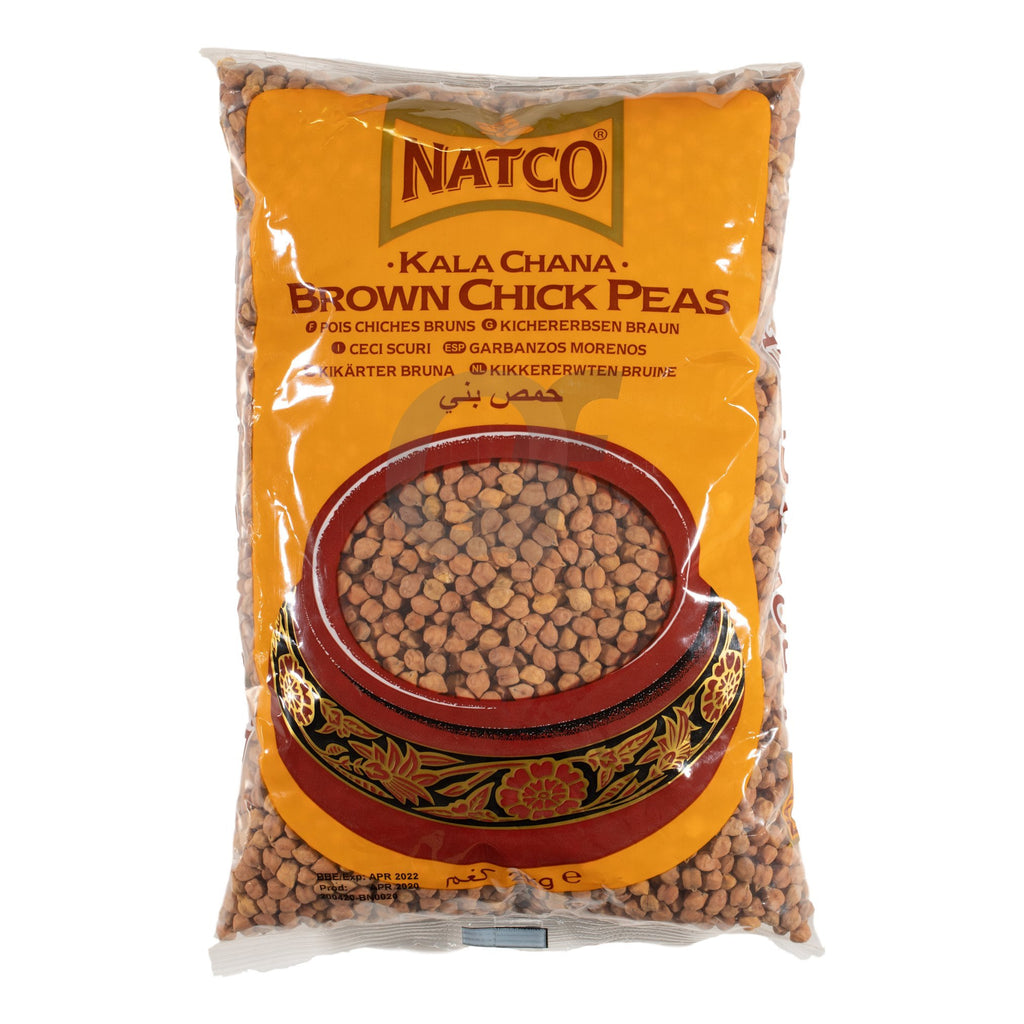 Natco Brown Chick Peas 500g
