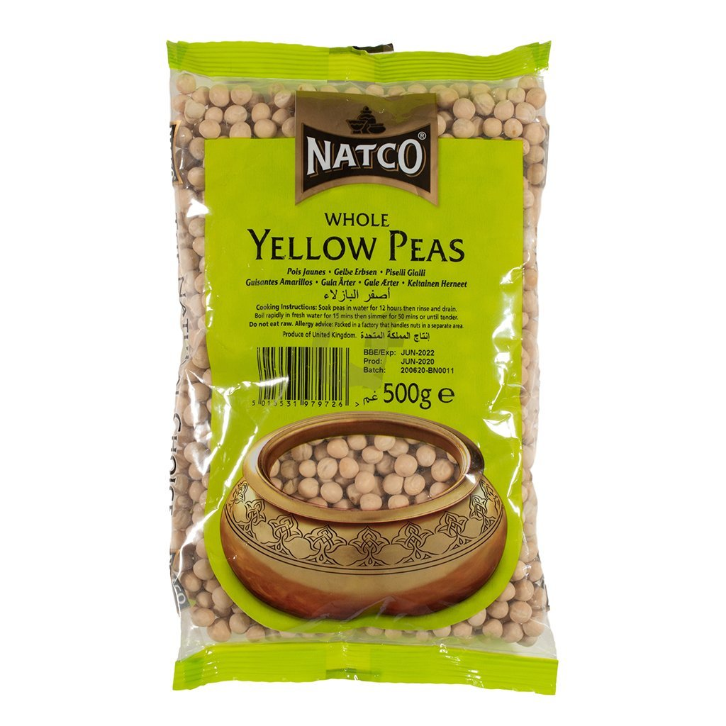 Natco Whole Yellow Peas