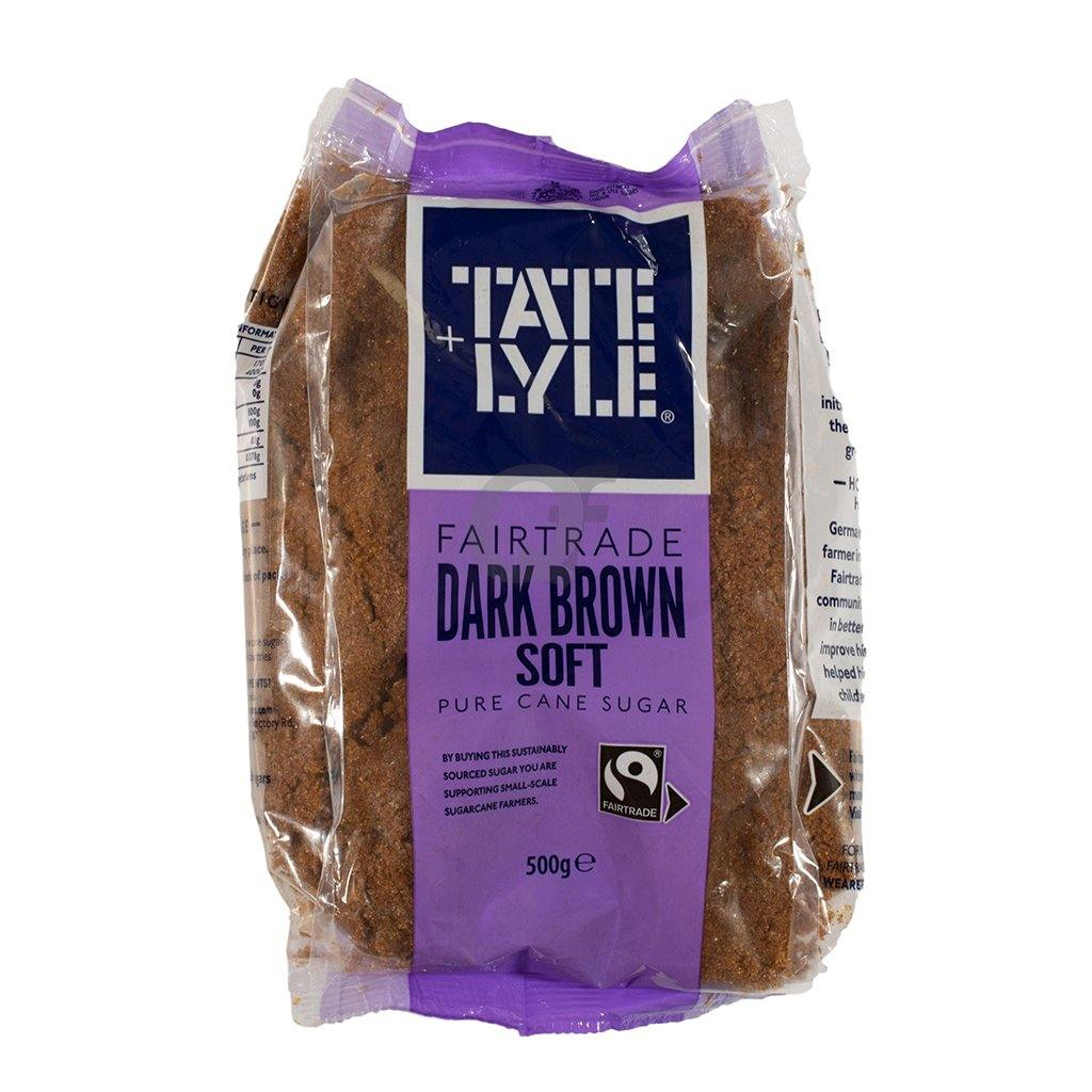 Tate & Lyle Dark Brown Soft Pure Cane Sugar 500g