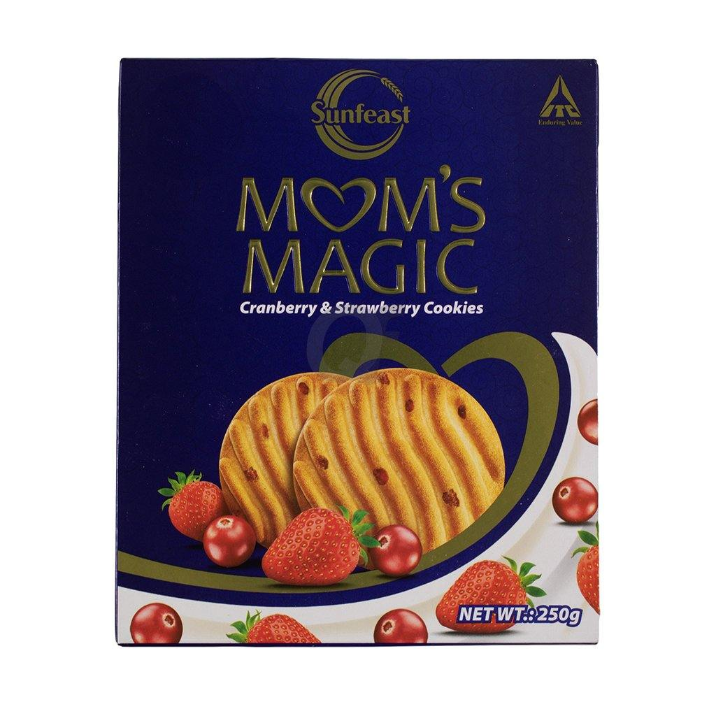 Mom's Magic Canberry & Strawberry Cookies 250g