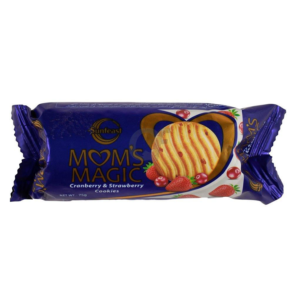 Mom's Magic Canberry & Strawberry Cookies 75g