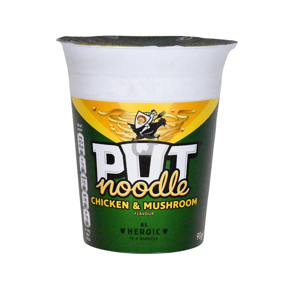 Pot Noodle Chicken and Mushroom flavour - 90g