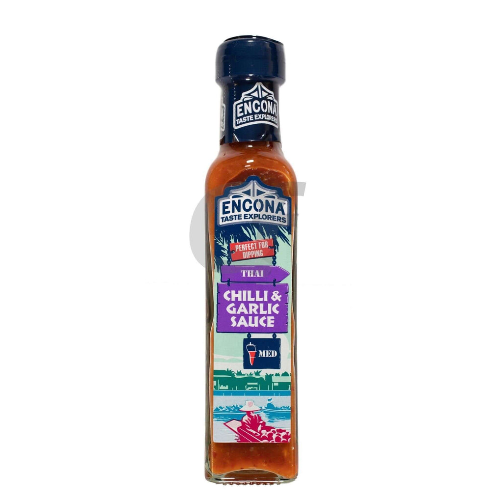 Encona Chilli & Garlic Sauce 142ML