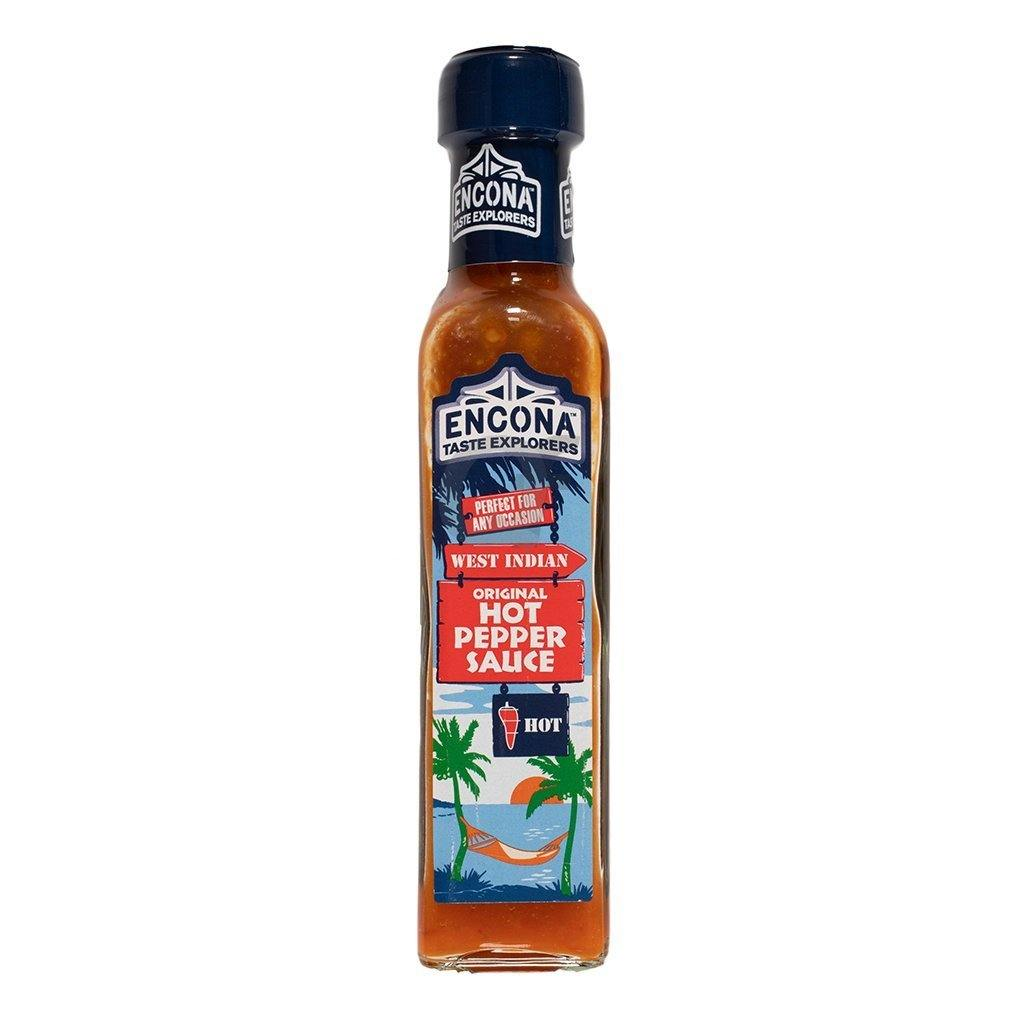 Encona west indian hot pepper sauce 142ML