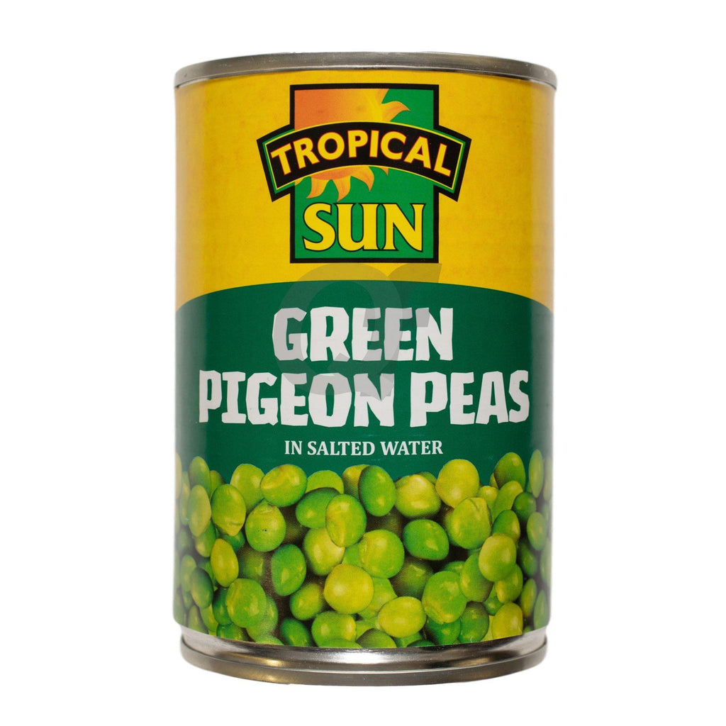 Tropical Sun Green Pigeon Peas 400g