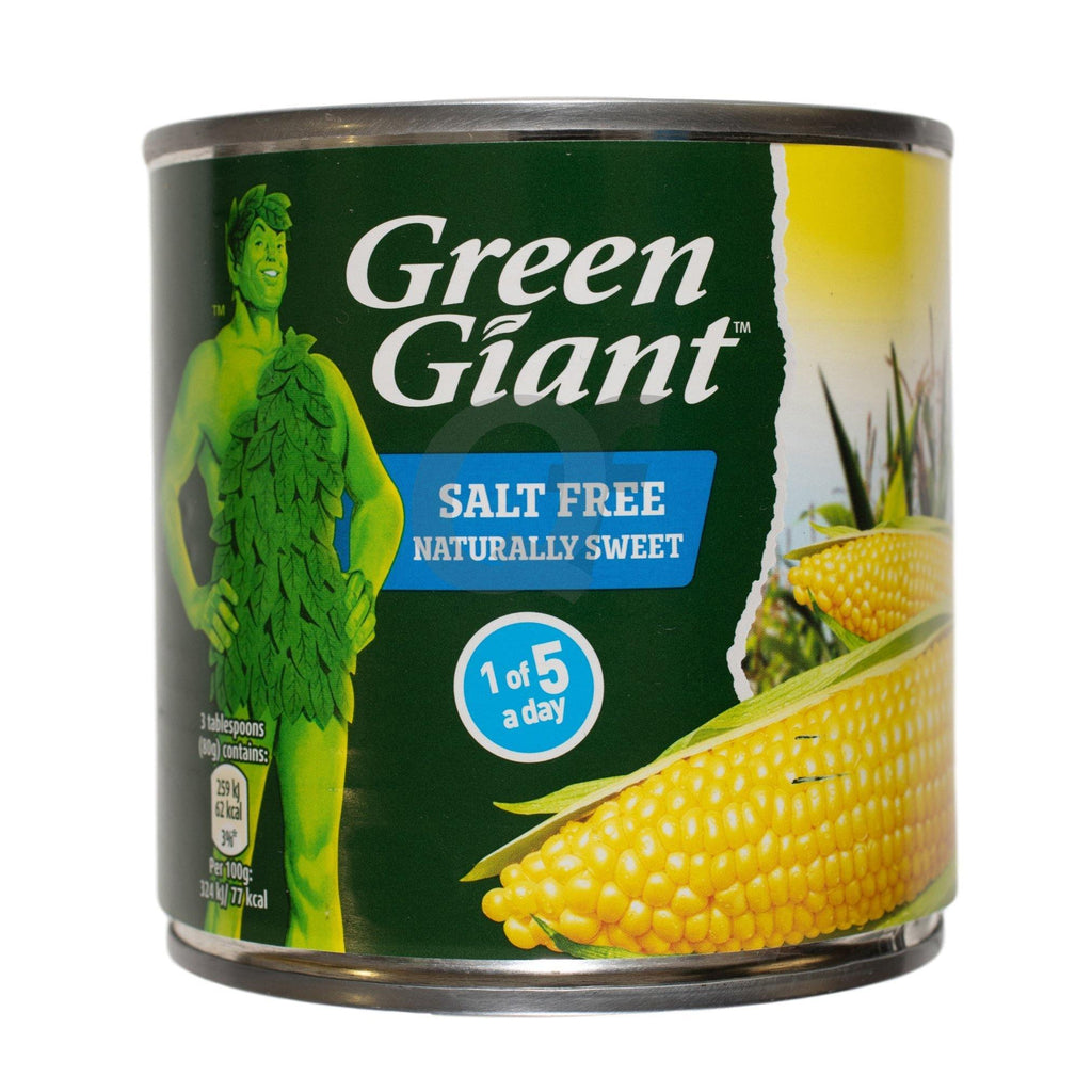 Green Giant Salt Free Naturally Salt Sweet 340g