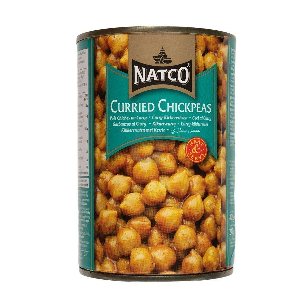 Natco curried chick peas 400g