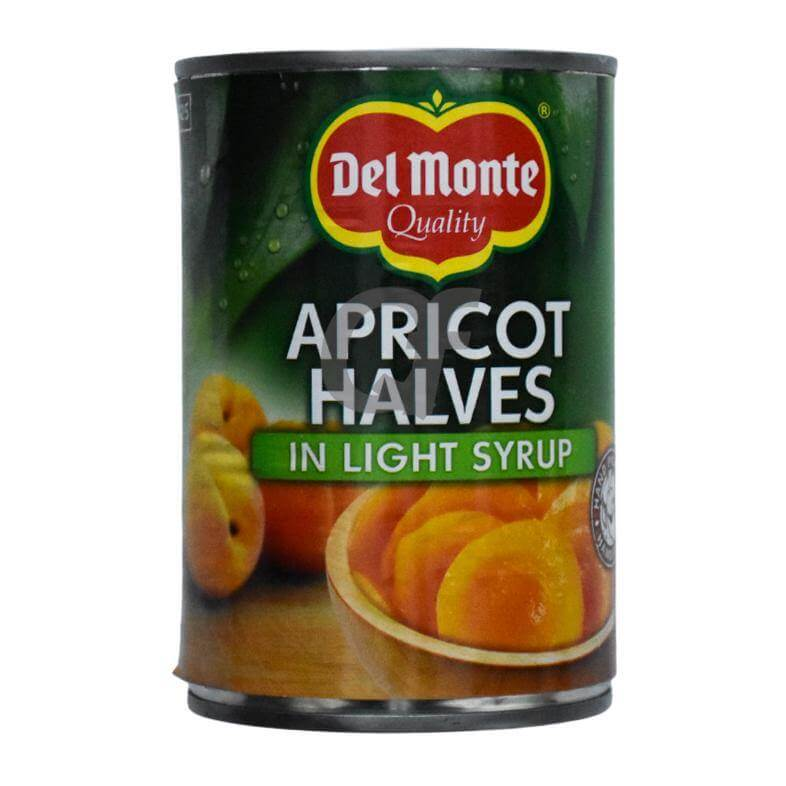 Del Monte Apricot Halves In Light Syrup - 420g