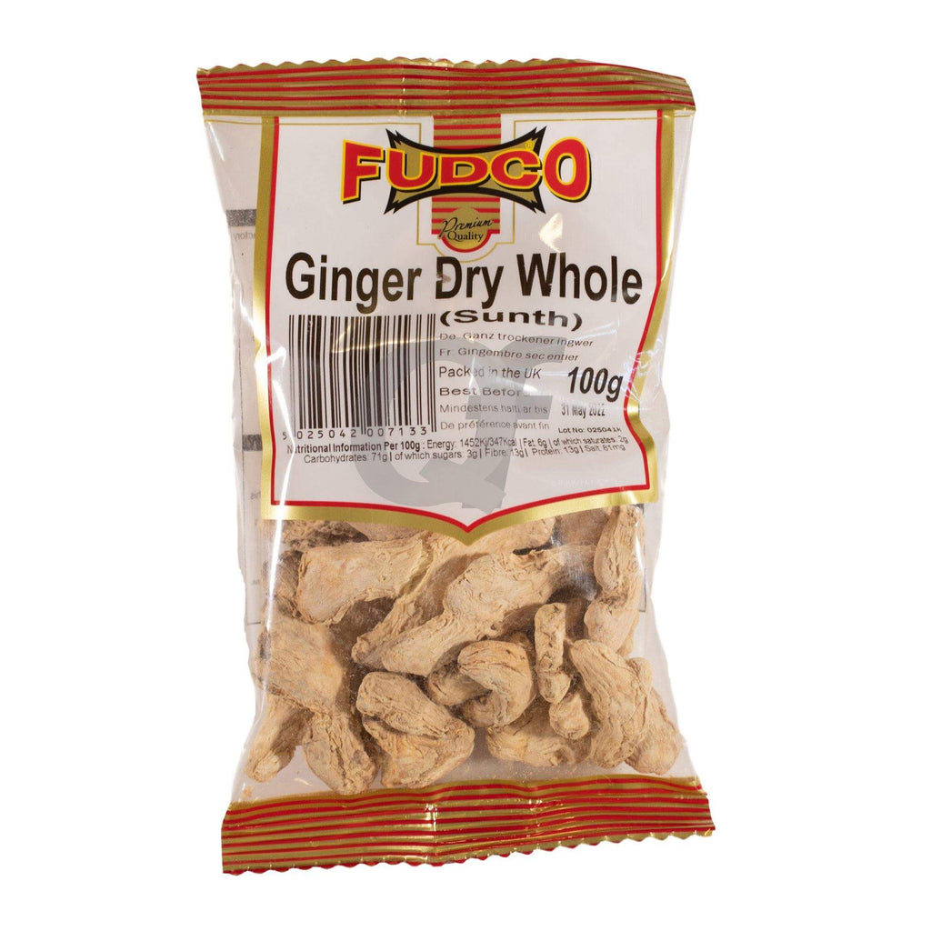 Fudco Ginger Dry Whole (Sunth) 100g