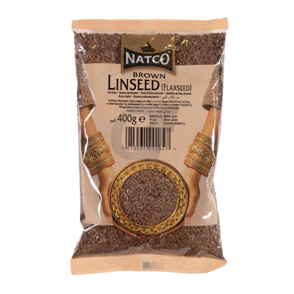 Natco brown linseed alsi 400g