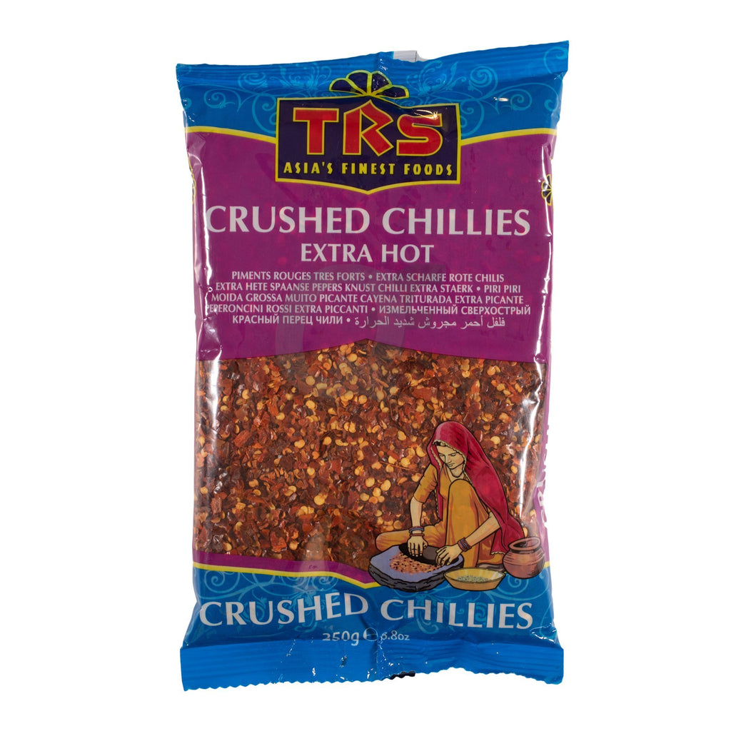 TRS crushed chillies ex hot