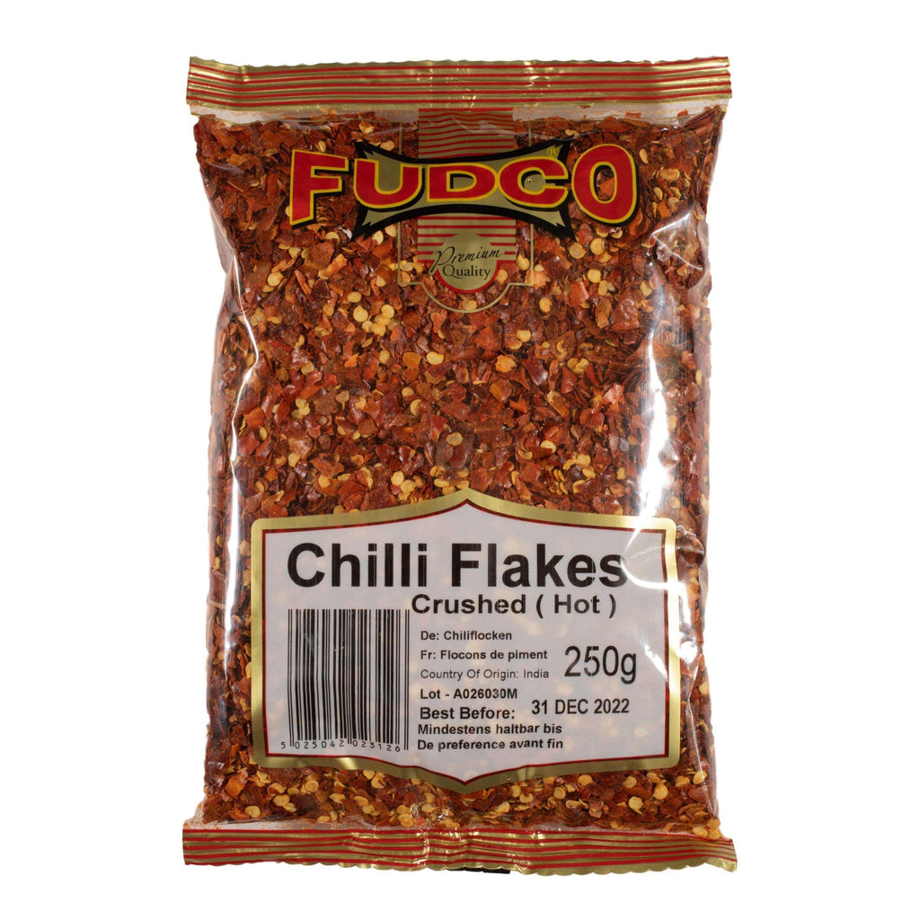 Fudco chilli flakes crushed (hot)