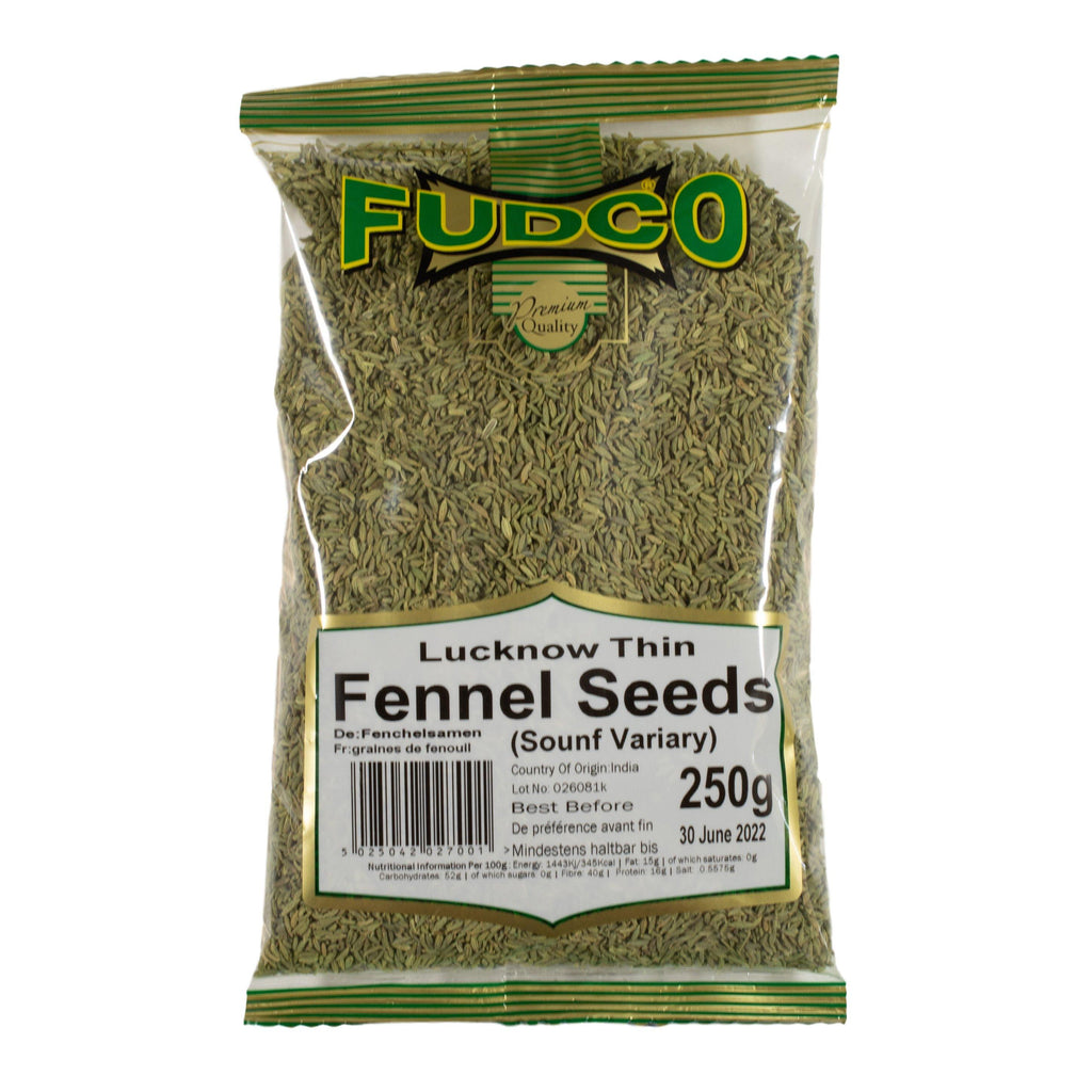 Fudco lucknow fennel seeds thin 250g