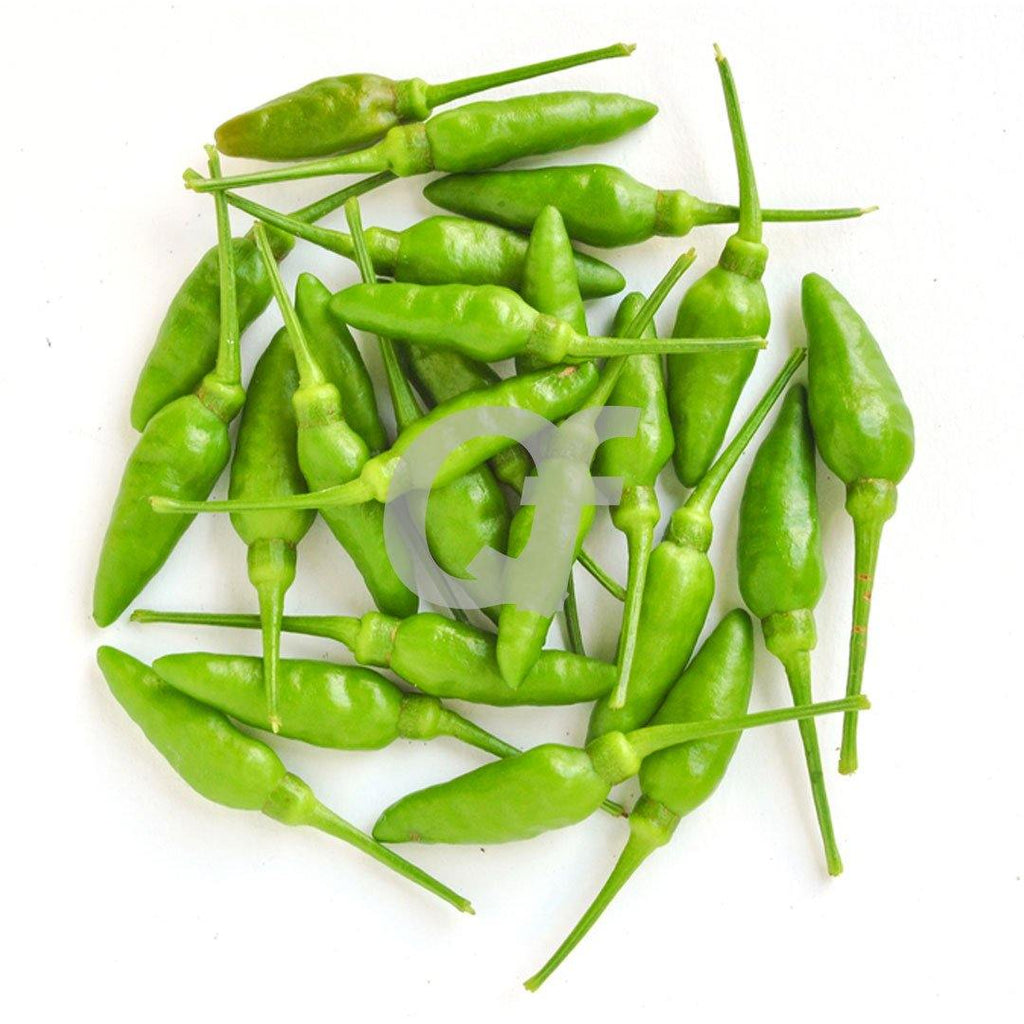 CHILLI BIRDS EYE GREEN - 250g
