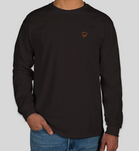 Load image into Gallery viewer, Yaheard Signature Long Sleeve T-Shirt - Small Fist - Black