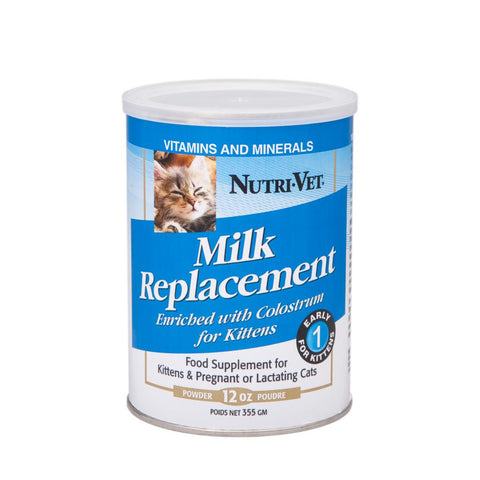 Nutri-Vet Milk Replacement Powder for Kittens
