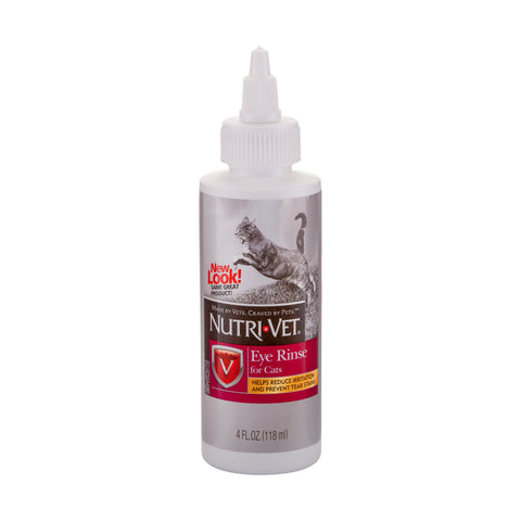Nutri-Vet Eye Rinse Liquid for Cats
