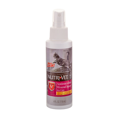 Nutri-Vet Antimicrobial Wound Spray for Cats