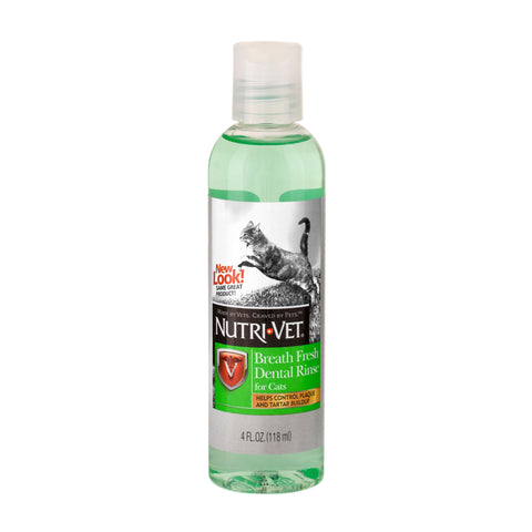 Nutri-Vet Breath Fresh Dental Rinse for Cats