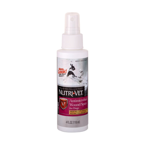 Nutri-Vet Antimicrobial Wound Spray for Dogs