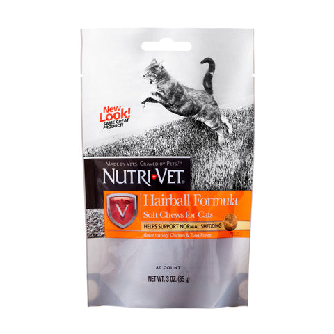 Nutri-Vet Hairball Soft Chews For Cats