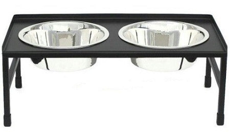 Tray Top Elevated Dog Bowl - Small, Medium, Large, X-Large