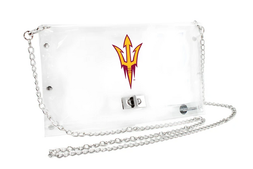 Arizona State University Clear Envelope Purse