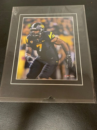 Arizona State University Burfict 8x10 Matted Photo