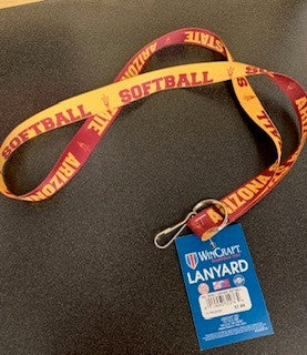 Arizona State University Sport Lanyard Softball