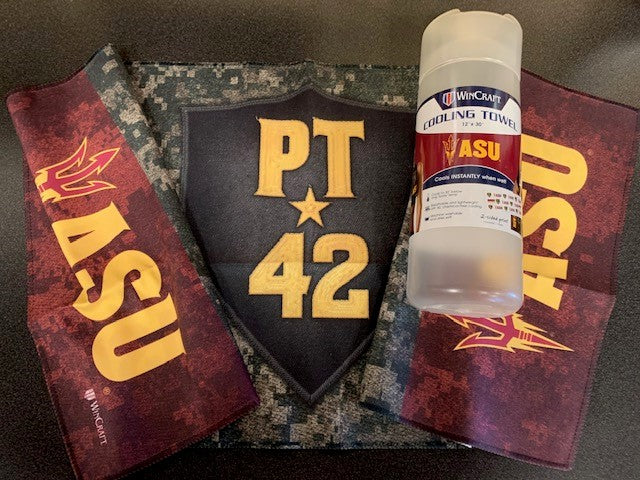 Arizona State University Pat Tillman PT42 Cooling Towel