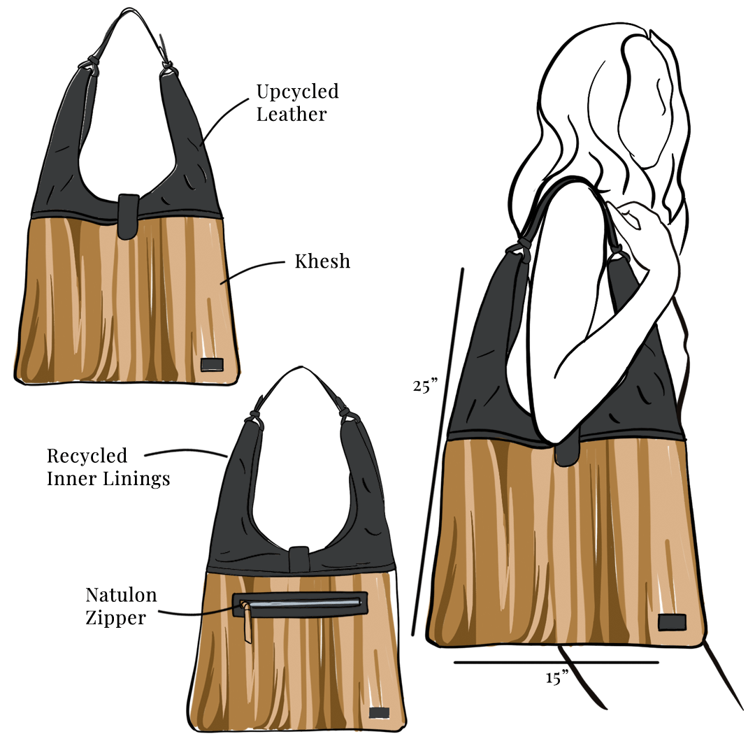 laboni tote closer bag