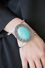 Load image into Gallery viewer, One For The Rodeo Blue Bracelet