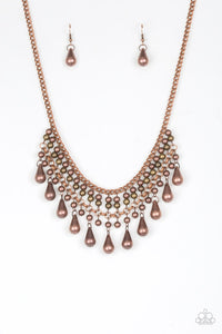 Dont Forget To Boss Copper Necklace