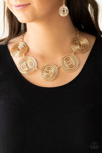 Sol Mates Necklace Gold