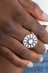 Poppy Pop Tastic White Ring