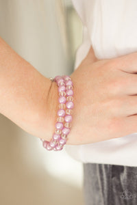 Modestly Modest Purple Bracelet