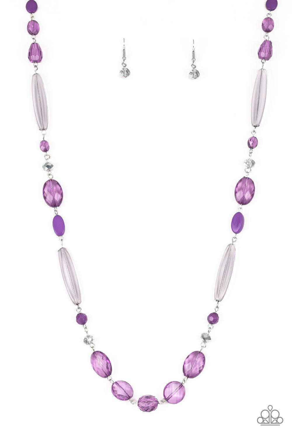 Quite Quintessence Necklace Purple