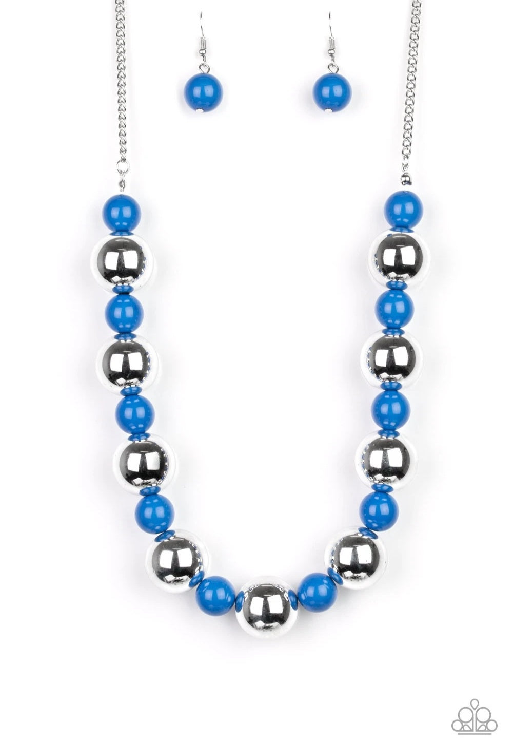 Top Pop Blue Necklace