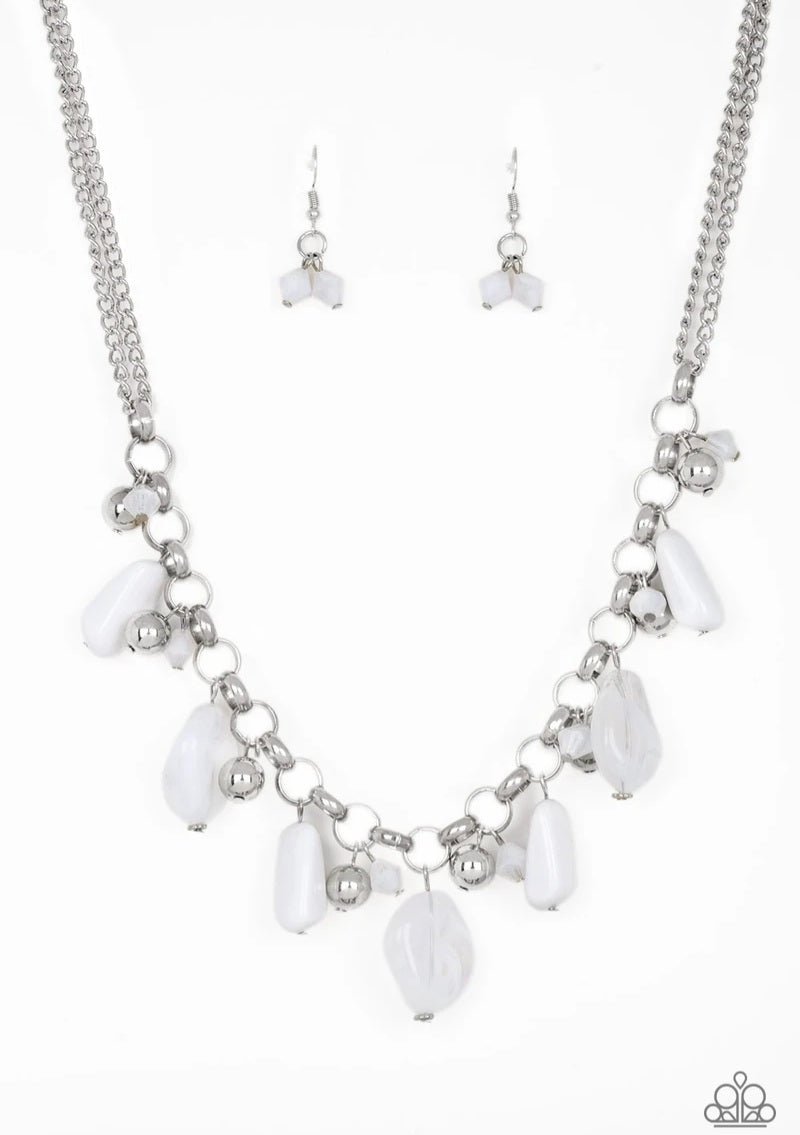 Grand Canyon Grotto White Necklace