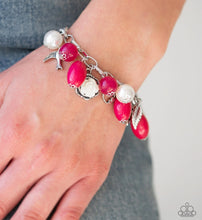 Load image into Gallery viewer, Love Doves Bracelet Pink