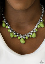 Load image into Gallery viewer, Paleo Princess Green Necklace