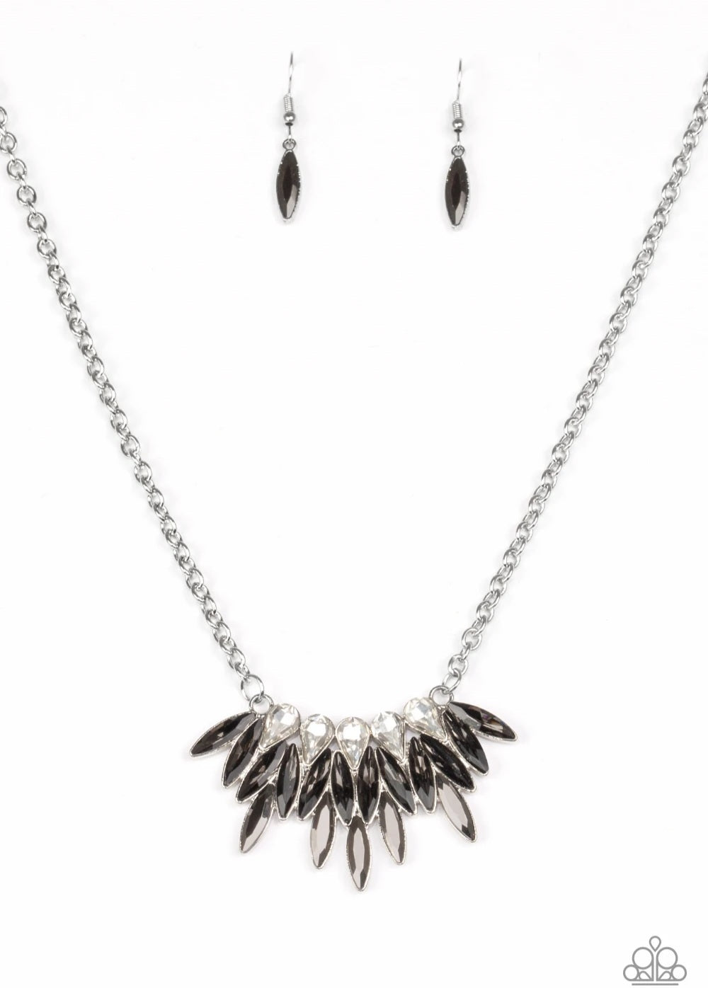 Crown Couture Silver Necklace