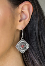 Load image into Gallery viewer, Fiercely Four Corners Brown Earring