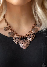 Load image into Gallery viewer, Love Lockets Copper Necklace
