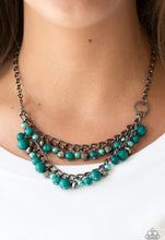 Load image into Gallery viewer, Watch Me Now Green Necklace