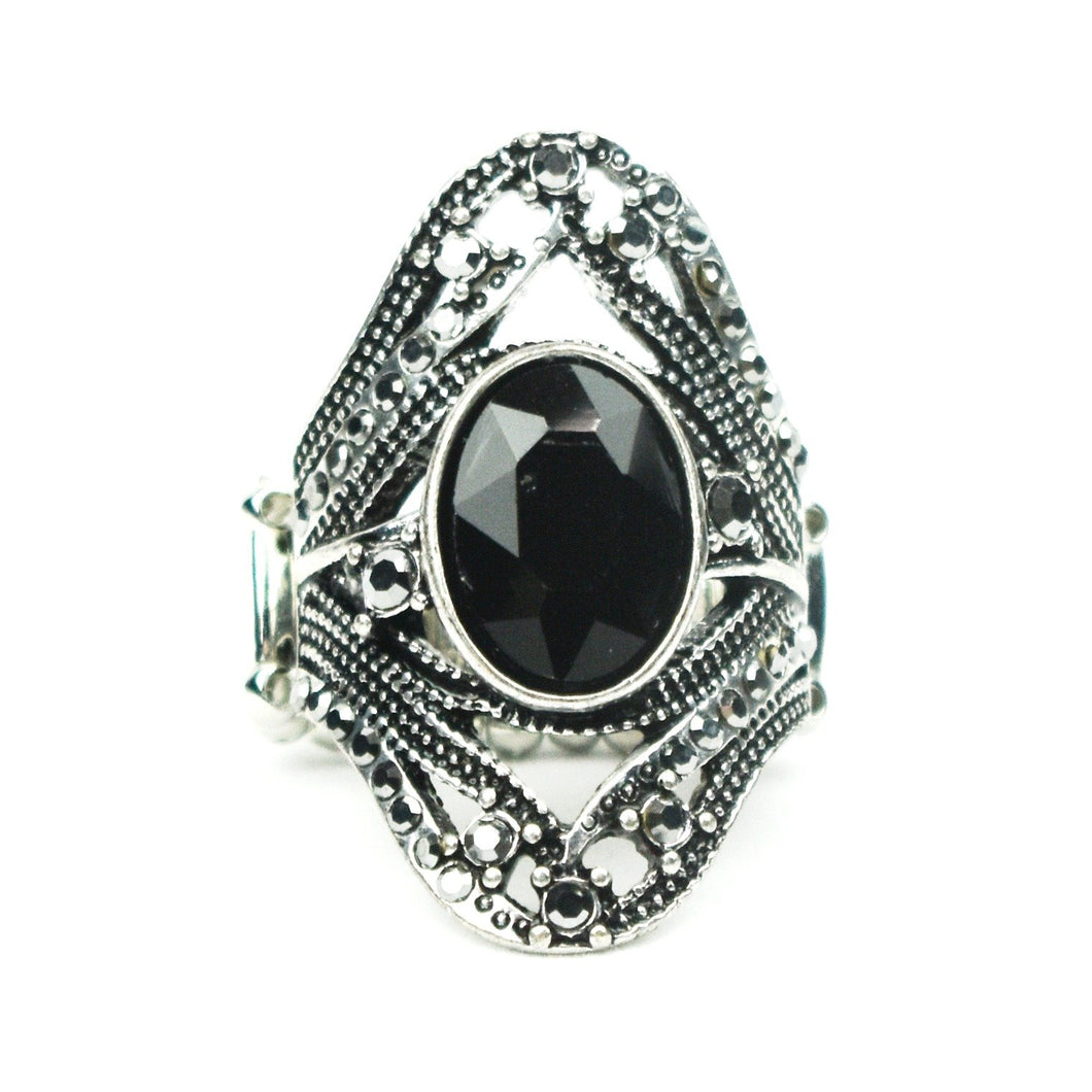Red Carpet Rebel Black Ring