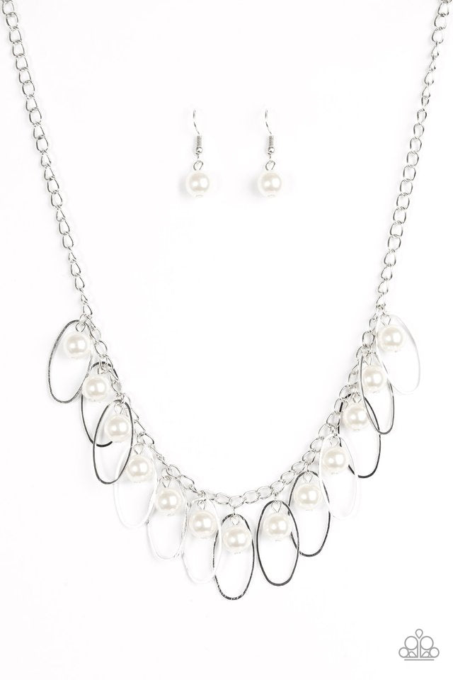 Party Princess Necklace White