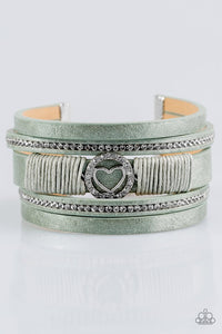 It Takes Heart Green Urban Bracelet