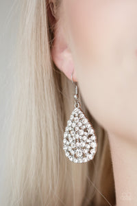 Sparkle Brighter White Earring