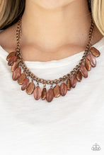 Load image into Gallery viewer, Fringe Fabulous Copper Necklace